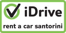 idrive rent a car Santorini, car hire on Santorini the easy way